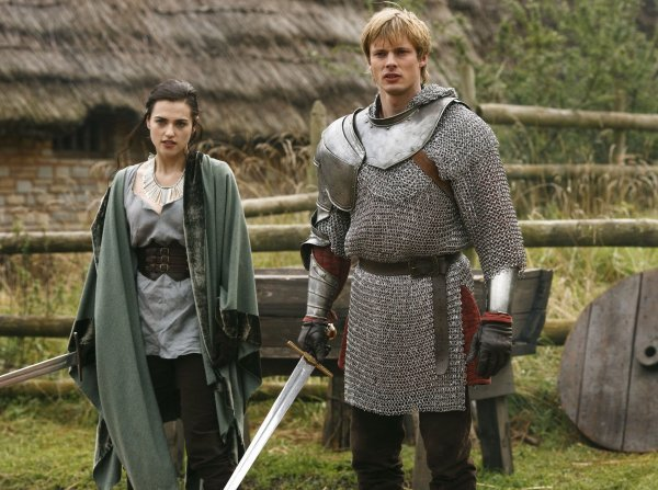 katie mcgrath bradley james. Katie McGrath, Bradley James
